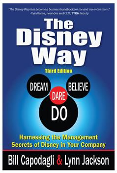 The Disney Way book - 3rd Edition Cover, 2016