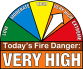 Very High Fire Danger pic